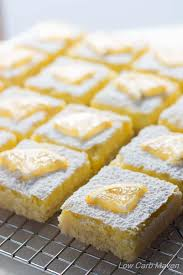 low carb lemon bars full of bright lemony flavor are a ketogenic ter s dream