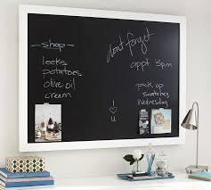 Office Chalkboard Framed Chalkboard Pottery Barn