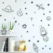 wall decals for boys rooms space wall decals for boy room outer space nursery wall sticker decor rocket ship astronaut vinyl