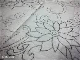 Contoh sketsa batik bunga simple. Motif Batik Bunga Yang Mudah Digambar Untuk Anak Sd Graha Batik