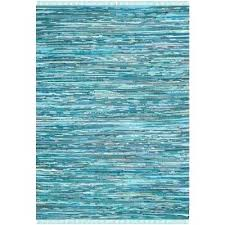 recycled blue jean rag rug multi 2 ft x 3 area the rugs 6