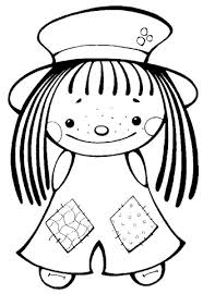 Cute Girl Coloring Page Free Printable Coloring Pages