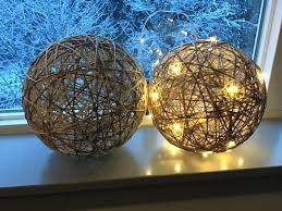 Paper Mache String Lights