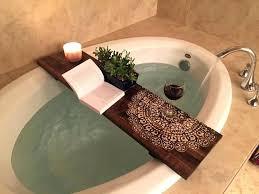 tub caddy wood bathtub wood zoom wooden bath the block wood bath caddy nz