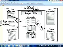 Tri Fold Board Ideas Fold Presentation Board Science Project Poster