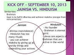 Jainism And Hinduism Venn Diagram Ppt Kick Off September 10 2013 Jainism Vs Hinduism Powerpoint