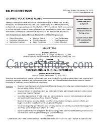 Sample Licensed Vocational Nurse Resume Licensed Vocational Nurse Resume Free Resume Templates 1