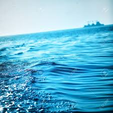 Ocean Wave Background Blue Ocean Waves Background Andaman Sea Thailand Stock Photo