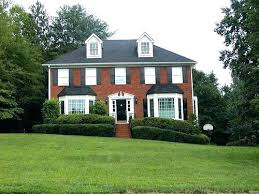 white house black shutters red door red brick house with black shutters red brick house with