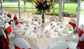 table setting ideas for wedding reception decoration party las lunch round awesome decorating