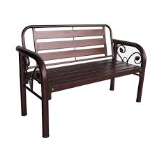 D home 4 full metal garden bench copper 11street malaysia outdoor table chairs