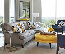 contemporary living room gray sofa set. Blues And Yellows Make For A Cool, Contemporary Living Room. Click Through More Room Gray Sofa Set I