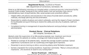 Entry Level Rn Resume Examples Entry Level Nursing Resume Awesome