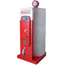 Kitchen Towel Holder Coke Vending Machine Paper Towel Holder Share A Coke