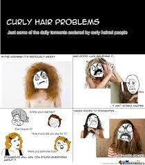 Curly Hair Problems by curlsey - Meme Center via Relatably.com