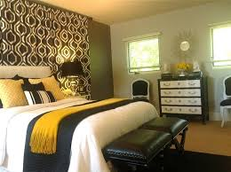 Black, White, Grey/Grey And Gold Bedroom - Contemporary - Bedroom ...