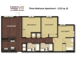 Charming Beautiful 3 Bedroom Apartments College Station Pertaining To Innovational  Ideas One In