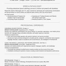 Academic Achievement Resume Examples Of A Speech Pathologist Resume And Cover Letter