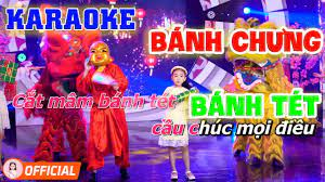 Karaoke Bánh Chưng Bánh Tét - Nhạc Xuân Thiếu Nhi Dễ Hát Dành Cho Bé - Bé  Candy Ngọc Hà - YouTube