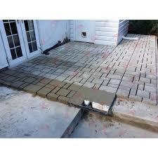20 pavement concrete mold garden walkway driveway path diy maker mould plastic