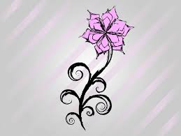 Small Picture cool easy flower designs to draw on paper Free Flower Vector