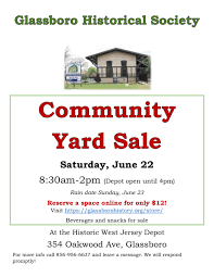 Community Yard Sale Official Website Of The Borough Of