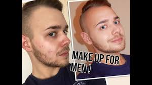 5 basic make up tips for male models and actors