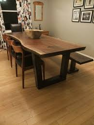 live edge tables toronto ontario slab table contemporary throughout dining plan 12