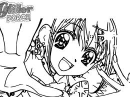 Glitter Force Coloring Pages Lucky Lol Surprise Free Candy Effects