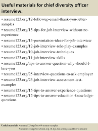 Diversity Officer Sample Resume