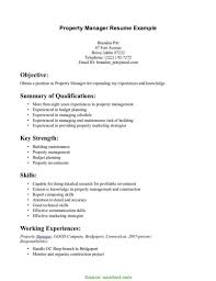 composing job assistant property manager resume objective job and resume rs