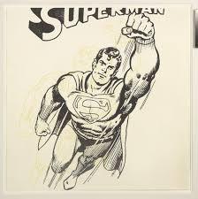 andy warhol superman unique