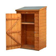 bosmere mini 3 ft x 2 ft wood storage shed