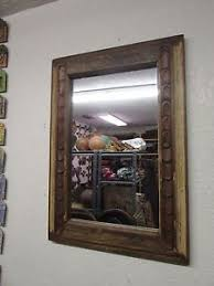 image is loading antique old door carved mirror 6 mexican 23x33