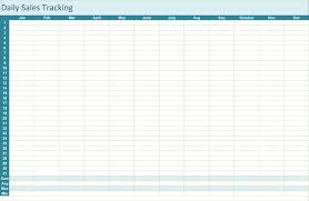 Sales Tracking Template – 5 Printable Spreadsheets