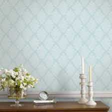 Fresco Duck egg Elinor Wallpaper ...