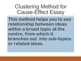Cause Effect Essay Mass Lecture 545824