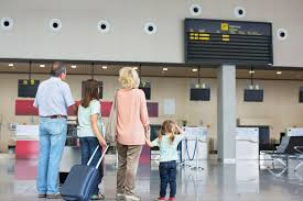 getting to the airport early is a smart move for families but remember the right doents