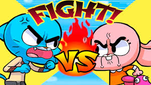 the amazing world of gumball remote fu fun fight to watch tv cartoon network games for children