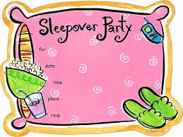 Slumber Party Invite 8 Ct Free Shipping Girls Invitations