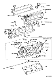help getting parts together for head gasket job yotatech forums difference for this motor and these parts for the 1988 year i searched our 4runner and yours but here s a better pic from toyotapartszone com