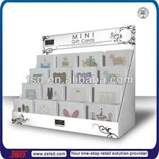Greetings Card Display Stands TSDC100 factory custom cardboard display stands for greeting 52