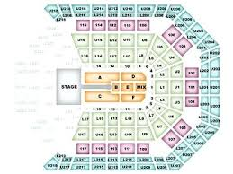 Mgm Arena Seating Map Mgm Grand Garden Arena Seat Map Mgm