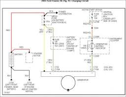 2001 ford taurus wiring diagram alternator pinterest taurus 2001 ford taurus radio wiring harness at 2001 Ford Taurus Stereo Wiring Diagram