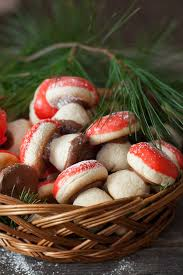 Desserts hold a special place on the table and in the hearts of many russians. Christmas Cookies 1 Russian Mushroom Cookies Gribochky Cooking Melangery