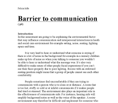 Communication Essay Sample Introduction To Communication In Health And Social Care Essay Example