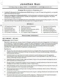 human resource generalist resume resume examples human resource generalist resume human resource generalist resumes template