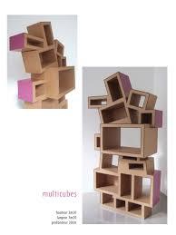 Tag Re En Carton Cardboard Furniture Diy Pinterest Meuble Meuble En Carton Galerie Fauteuil Ruban Carton
