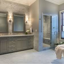 transitional bathroom ideas. Bathroom Design Thumbnail Size Transitional With Grey Marble Subway Tile Freestanding Tub Walls Pink Luxury Ideas L