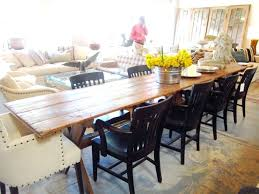 rustic round kitchen table. Long Kitchen Tables Rustic Round Dining Room Ideas Also Narrow Table Picture Country